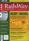 RailsWay Magazin Cover for Ruby Conference Article