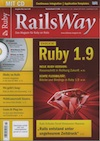 RailsWay Magazin Cover for Ruby die 1.9te Article